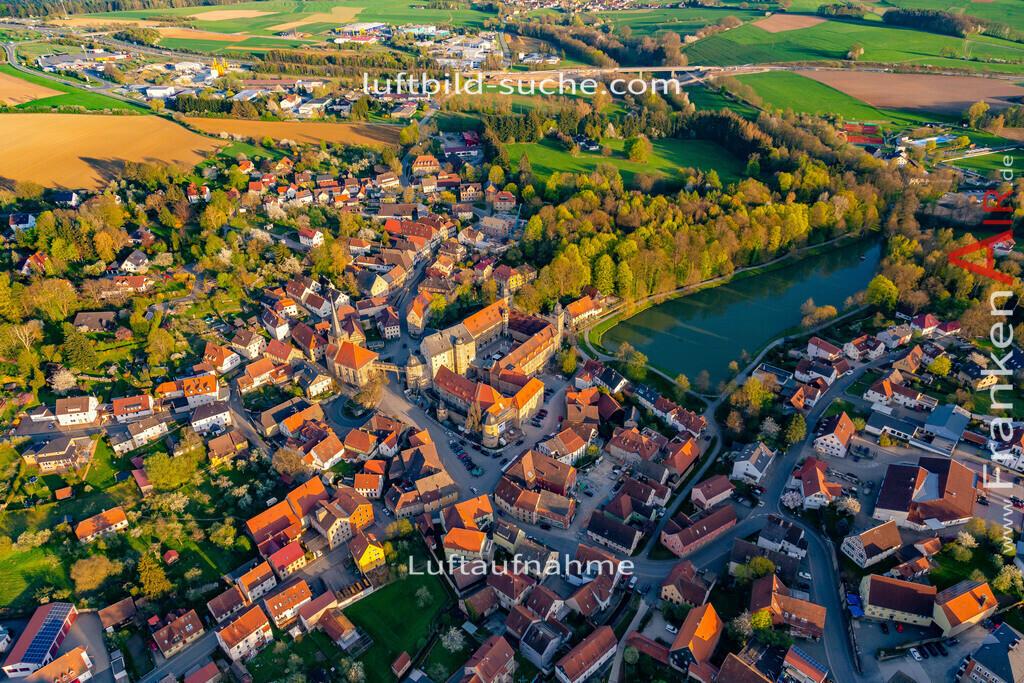 schloss-thurnau-18-218 | aktuelles Luftbild von Schloss Thurnau - Luftaufnahme wurde 2018 von https://frankenair.de mittels Flugzeug (keine Drohne) erstellt.