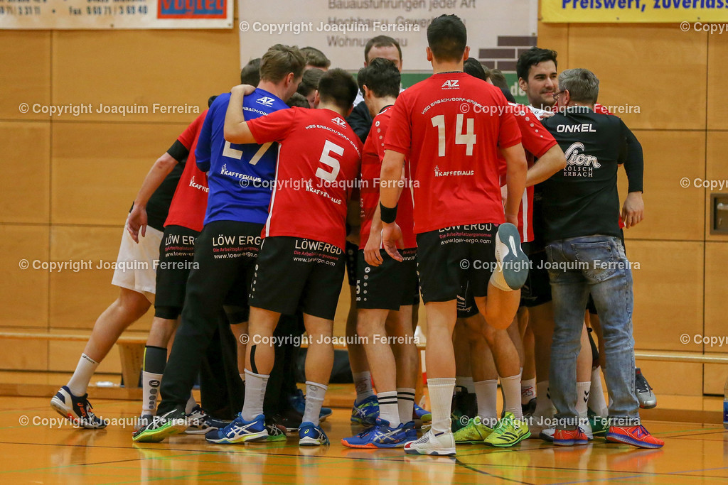 190203_hbep_0003 | oespor  2019.02.03 Handball Herren BOL HSG Eppersthausen/Münster gegen HSG Erbach/Dorf-Erbach  emspor, emonline, oespor,  v.l.,   Foto:Joaquim Ferreira