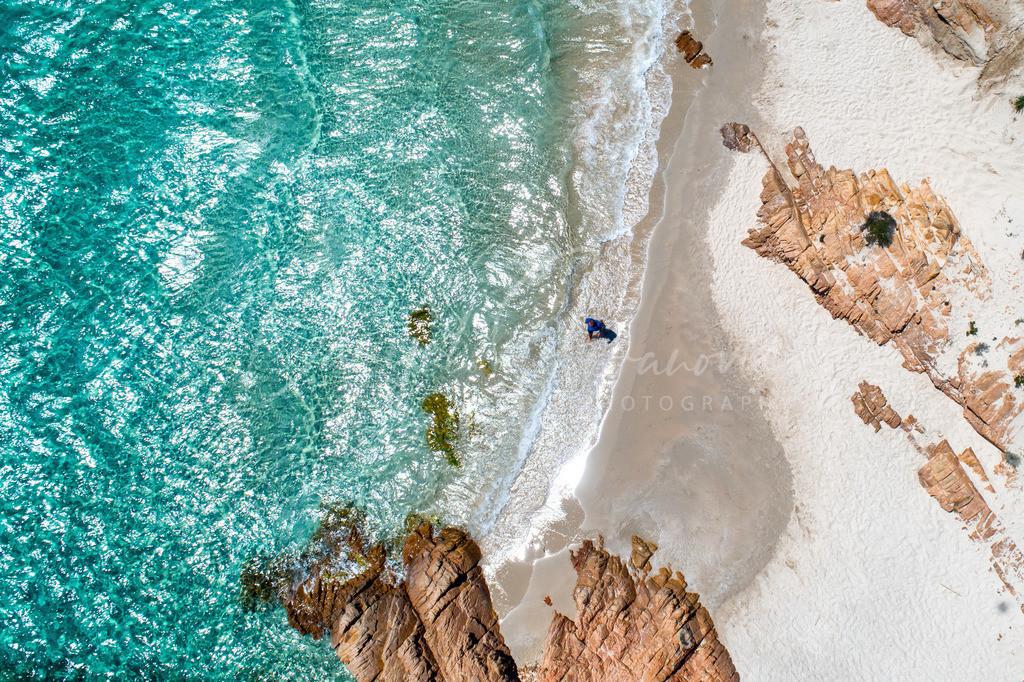 Isola Spargi | Weißer Sand und türkisblaues Meer an der Isola Spargi