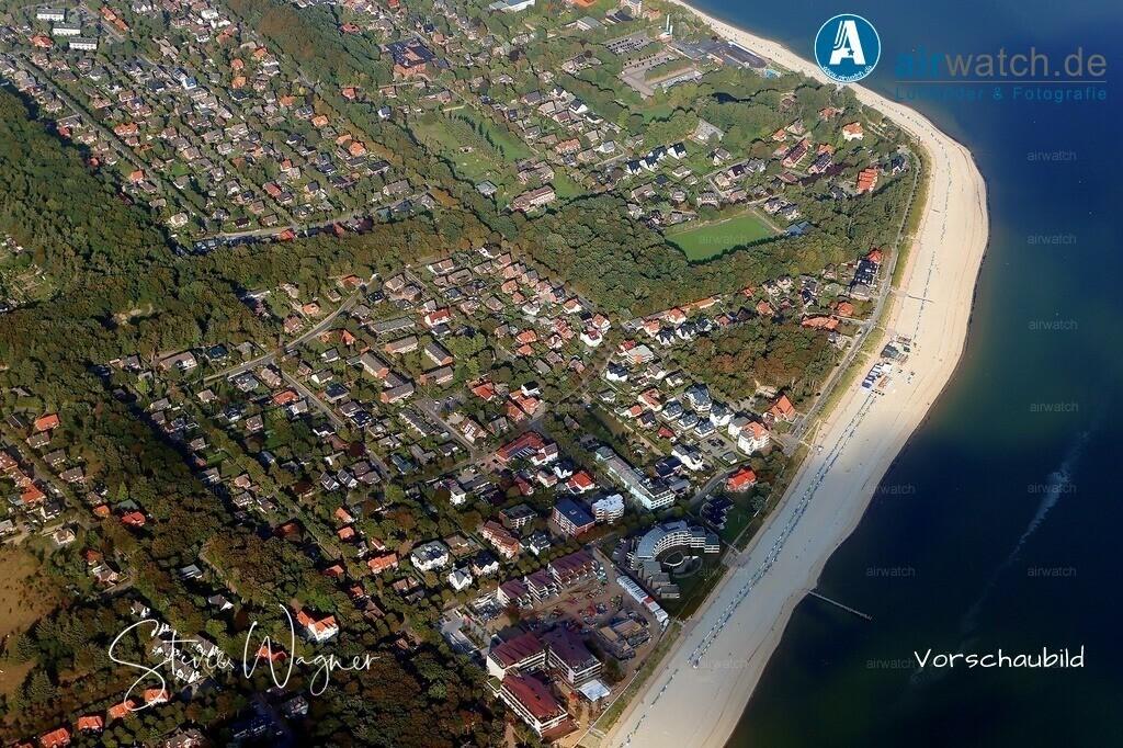 Luftbild Nordsee, Föhr, Wyk auf Föhr, Suedstrand, Promenadenweg | Nordsee, Föhr, Wyk auf Föhr, Suedstrand, Promenadenweg - Grosse Digitalfotos gibt es auf www.airwatch.de/Photogalerie