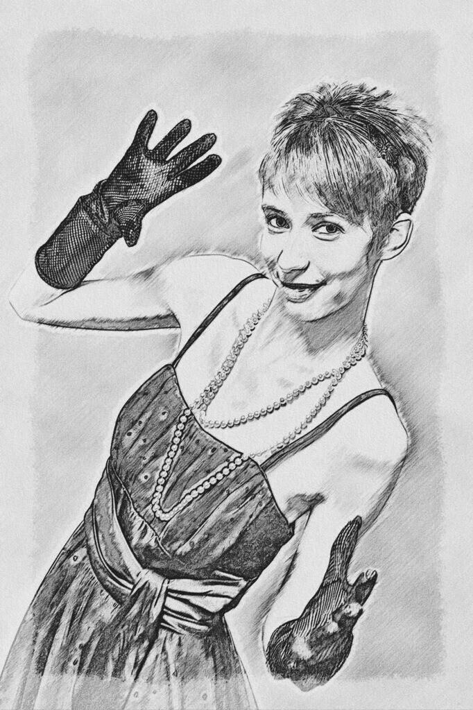 Handschuh Lady Bild 030