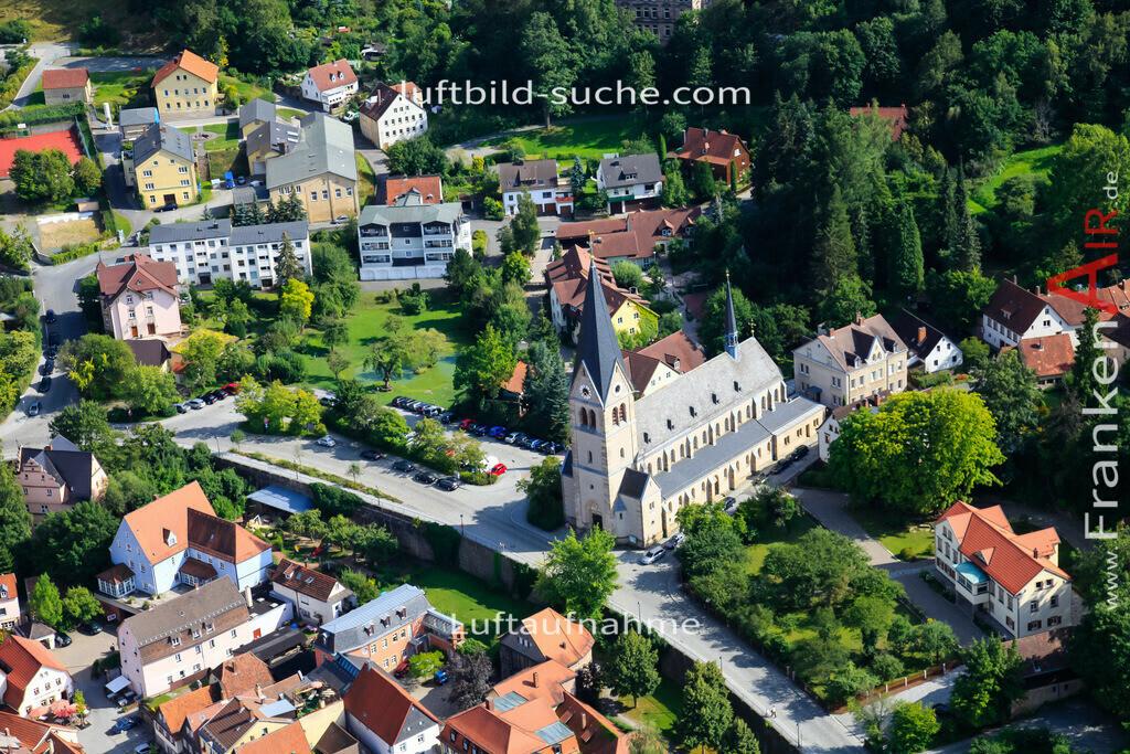 kirche-kulmbach-2009-1469 | Luftbild von Kirche Kulmbach - Luftaufnahme wurde 2009 von https://frankenair.de mittels Flugzeug (keine Drohne) erstellt - die Geschenkidee