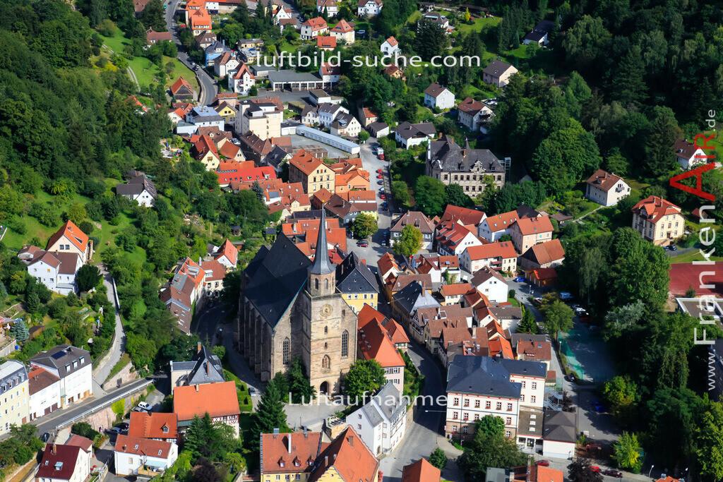 kirche-kulmbach-2009-1466 | Luftbild von Kirche Kulmbach - Luftaufnahme wurde 2009 von https://frankenair.de mittels Flugzeug (keine Drohne) erstellt - die Geschenkidee