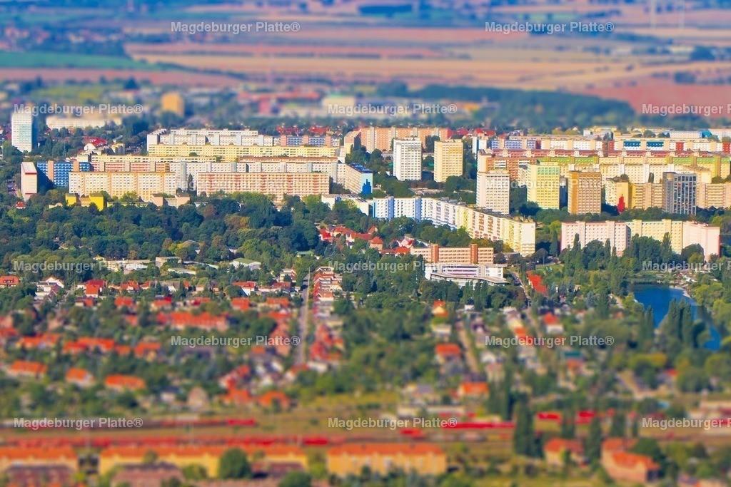 Luftbild Magdeburg Nord Miniatur IMG_2214