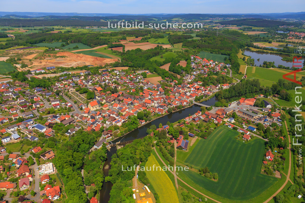 marktzeuln-2016-3385 | Luftbild von  Marktzeuln - Luftaufnahme wurde 2016 von https://frankenair.de mittels Flugzeug (keine Drohne) erstellt - die Geschenkidee
