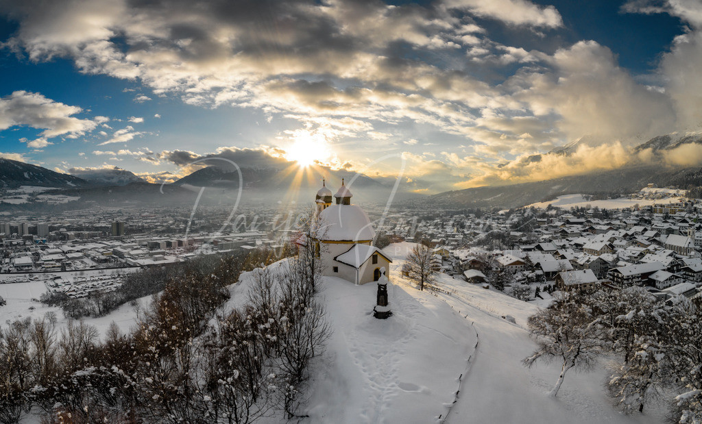 Kalvarienberg | Sonnenuntergang und Winterstimmung am Kalvarienberg