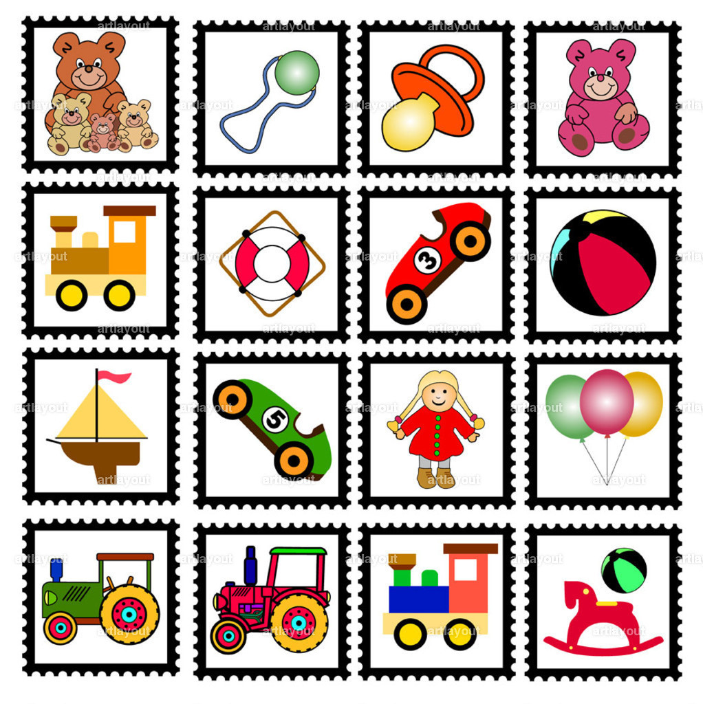 toys stamps