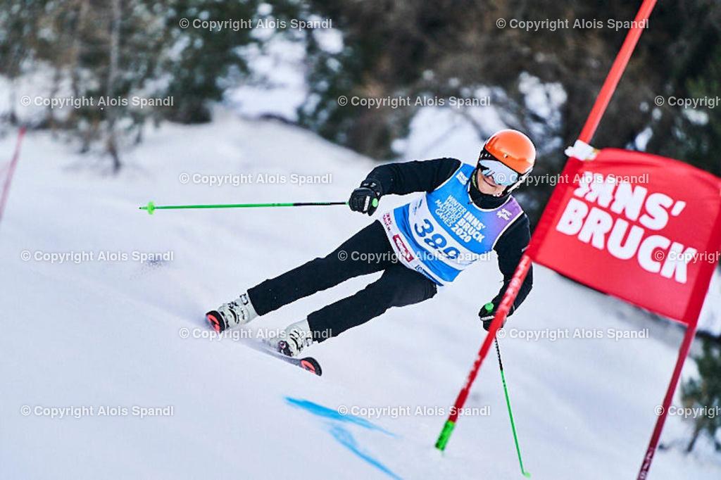 ALS5622_WWMG_GS-II_C | (C) FotoLois.com, Alois Spandl, WinterWorldMastersGames 2020 Innsbruck, Giant Slalom-II Gruppe C Damen, Patscherkofel Olympiaabfahrt, Mi 15. Jänner 2020.