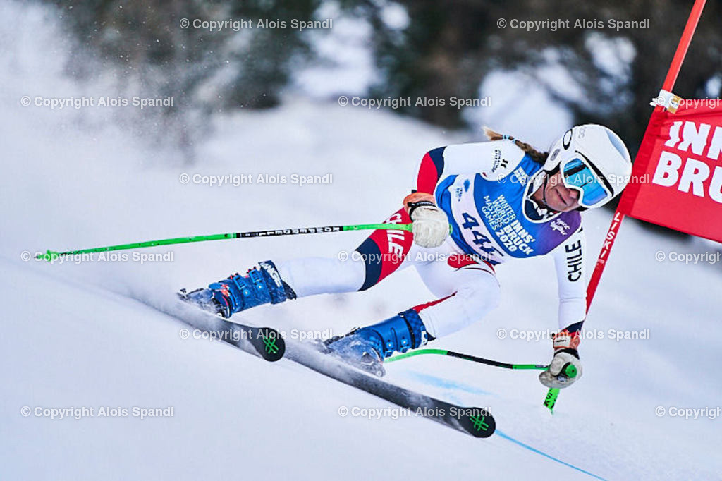 ALS5892_WWMG_GS-II_C | (C) FotoLois.com, Alois Spandl, WinterWorldMastersGames 2020 Innsbruck, Giant Slalom-II Gruppe C Damen, Patscherkofel Olympiaabfahrt, Mi 15. Jänner 2020.