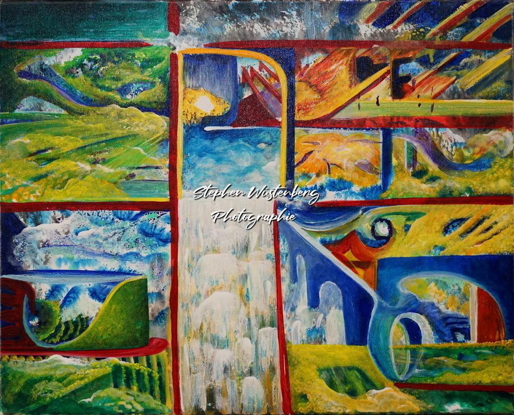 Gingel-0056 Veränderung | Roland Gingel Artwork @ Gravity Boulderhalle, Bad Kreuznach  Bilder dieser Galerie sind noch nicht im Verkauf. Wenn Sie Repros erwerben möchten, finden Sie diese in der Untergalerie