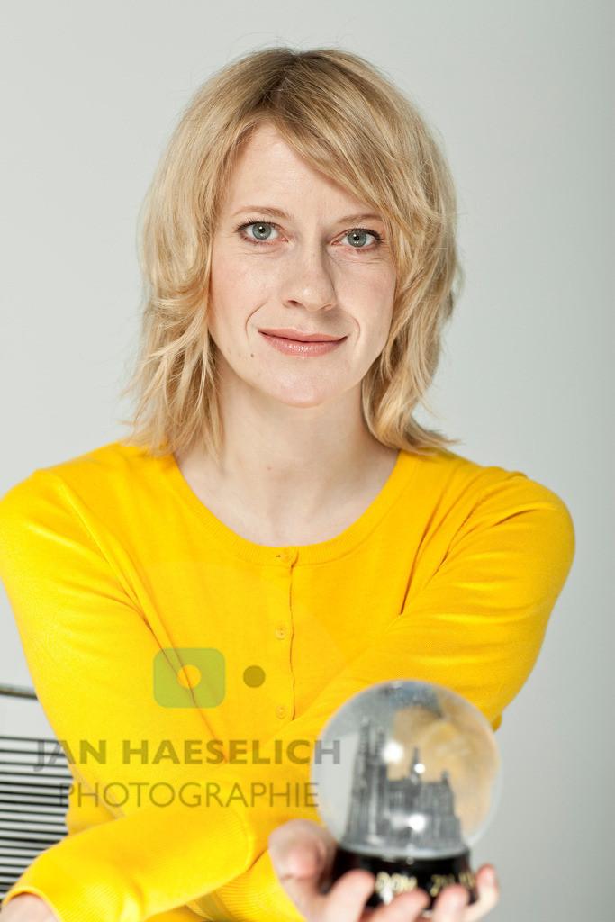 Caroline Peters | Fototermin in Hamburg am 31.03.2010 zur ARD Fernsehserie