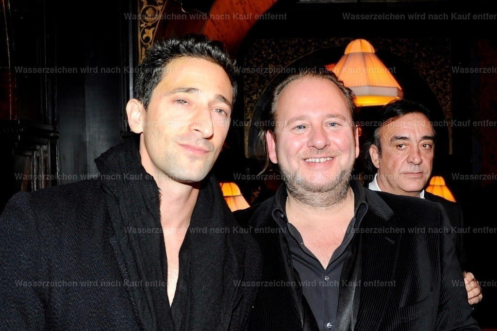 Adrien Brody & Thorsten Wulfes   Adrien Brody & Thorsten Wulfes