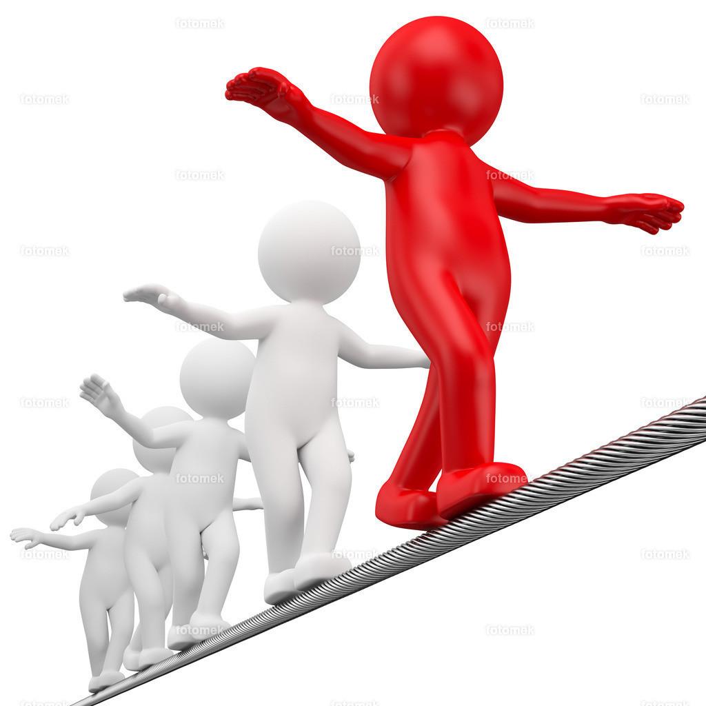 3d Männchen balance coaching