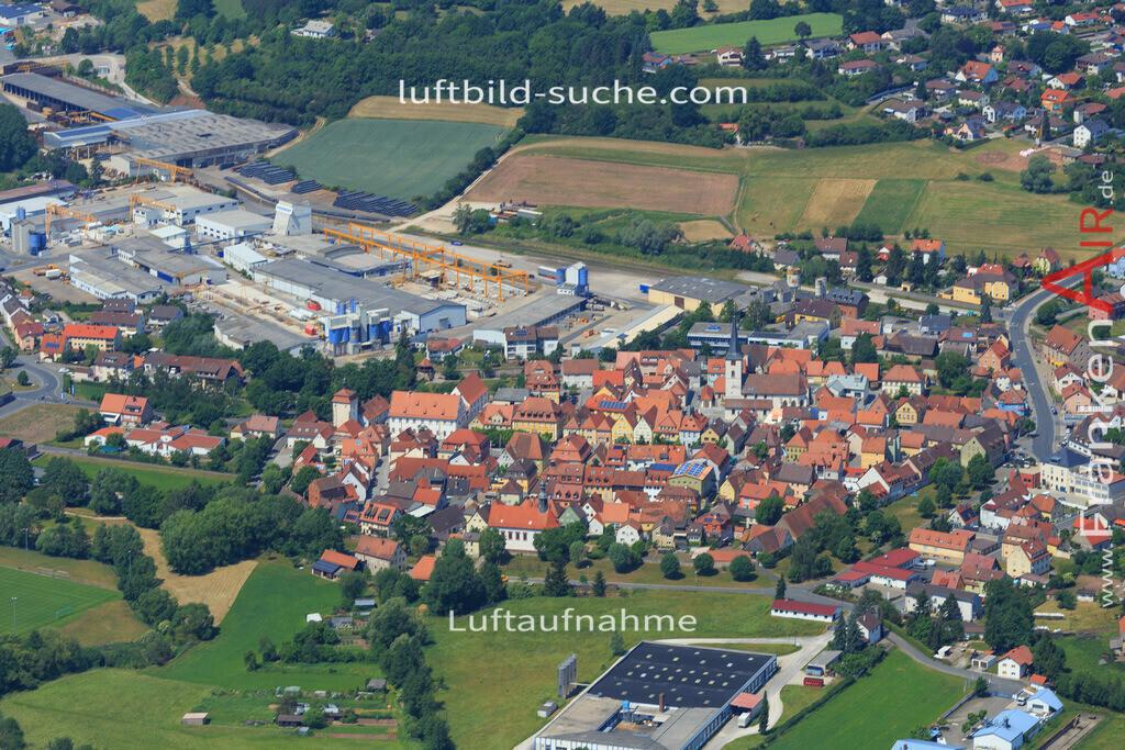 schluesselfeld-2015-1622 | Luftbild von  Schluesselfeld - Luftaufnahme wurde 2015 von https://frankenair.de mittels Flugzeug (keine Drohne) erstellt - die Geschenkidee