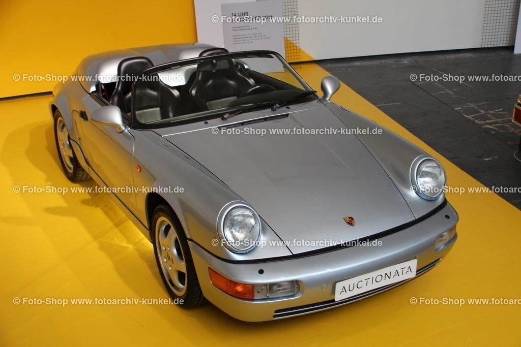 Porsche 911 (964) Carrera Speedster Prototyp, 1992 | Porsche 911 (964) Carrera Speedster 2 Türen Prototyp, Farbe Silber, Baujahr 1992, BRD, Einzelstück, angeboten von auctionata auf der Motorworld Classics 2016 Berlin