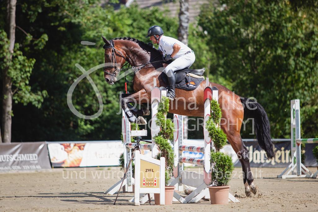 200819_Delbrück_Sprpf-A_1_2-030 | Delbrück Masters 2020 Springpferdeprüfung Kl. A* 4jährige Pferde
