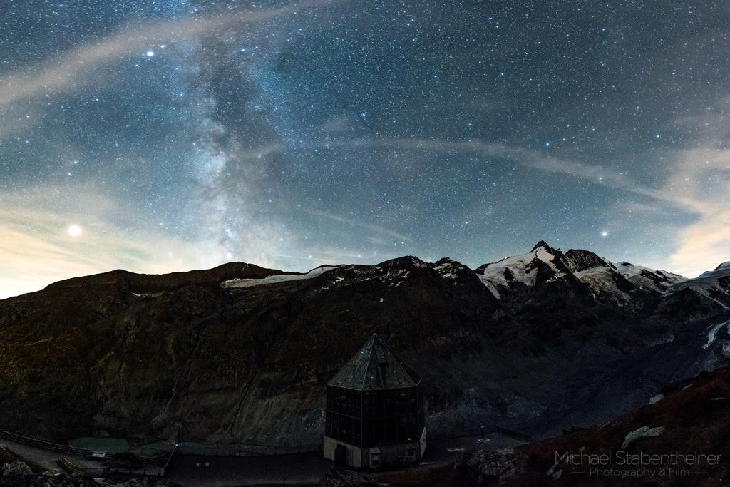 Nachts beim Großglockner | Nachtaufname der Milchstraße beim Großglockner in Kärnten