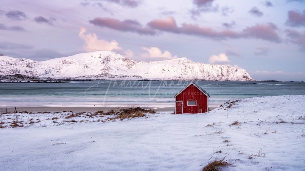 Die einsame Fischerhütte