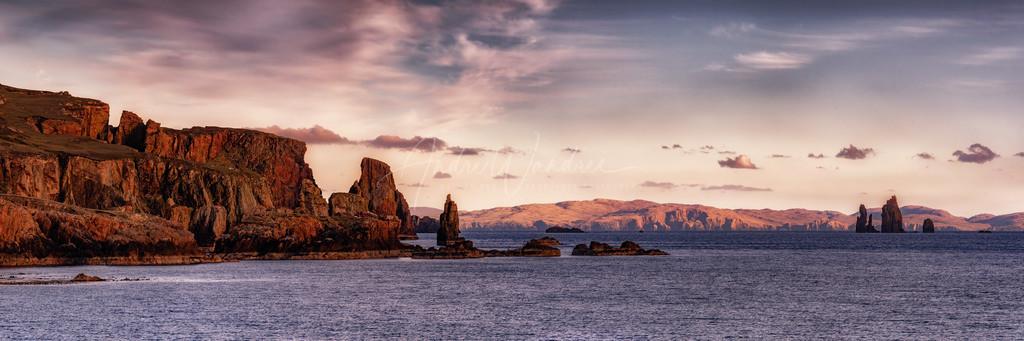 Klippen der Shetland Inseln