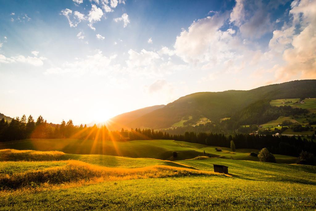 Sonnenuntergang im Lesachtal | Aufgenommen in Wodmaier im Lesachtal