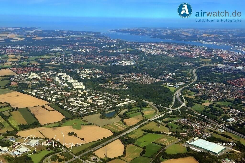 Kiel, Autobahnkreuz Kiel-West, Kiel-Mettenhof, Kiel-Russe   Kiel, Autobahnkreuz Kiel-West, Kiel-Mettenhof, Kiel-Russe • max. 6240 x 4160 pix
