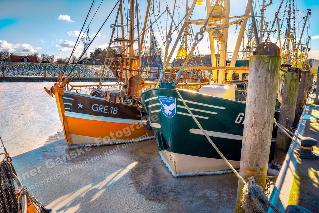 20210212-Hafen in Greetsiel Ostfriesland Krummhörn Winter 12 Februar 2021 _8