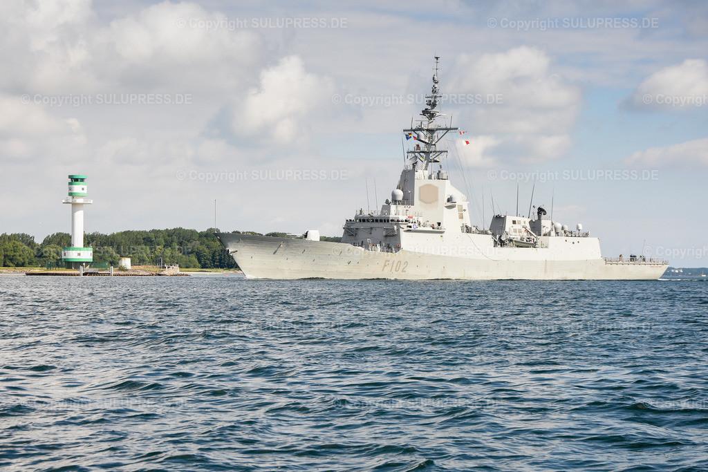 Die Spanische Fregatte F 102