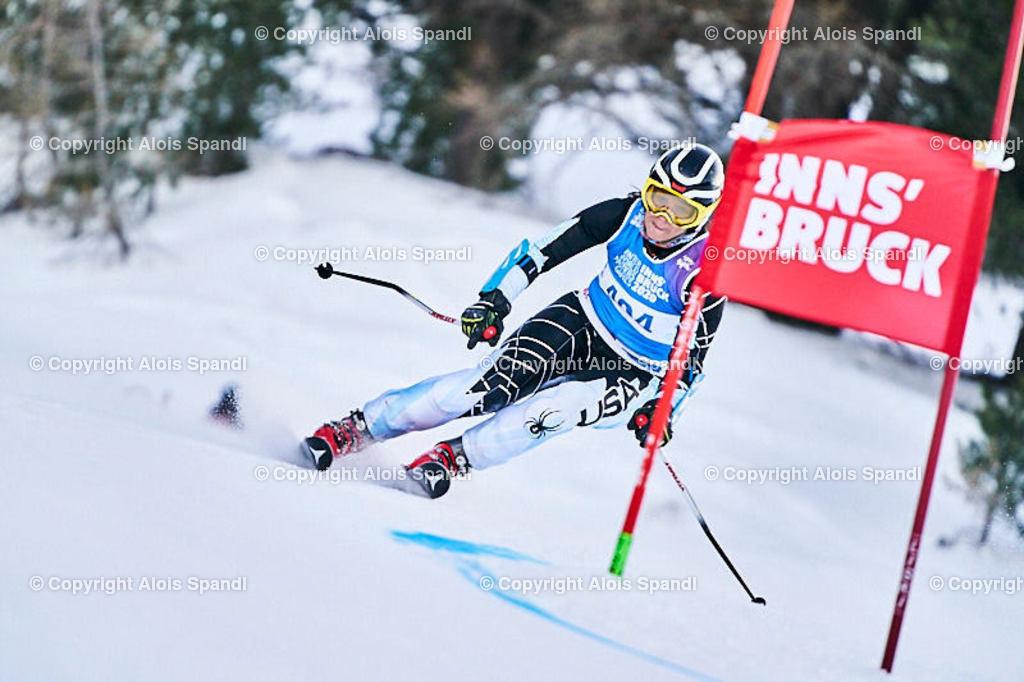 ALS5702_WWMG_GS-II_C | (C) FotoLois.com, Alois Spandl, WinterWorldMastersGames 2020 Innsbruck, Giant Slalom-II Gruppe C Damen, Patscherkofel Olympiaabfahrt, Mi 15. Jänner 2020.