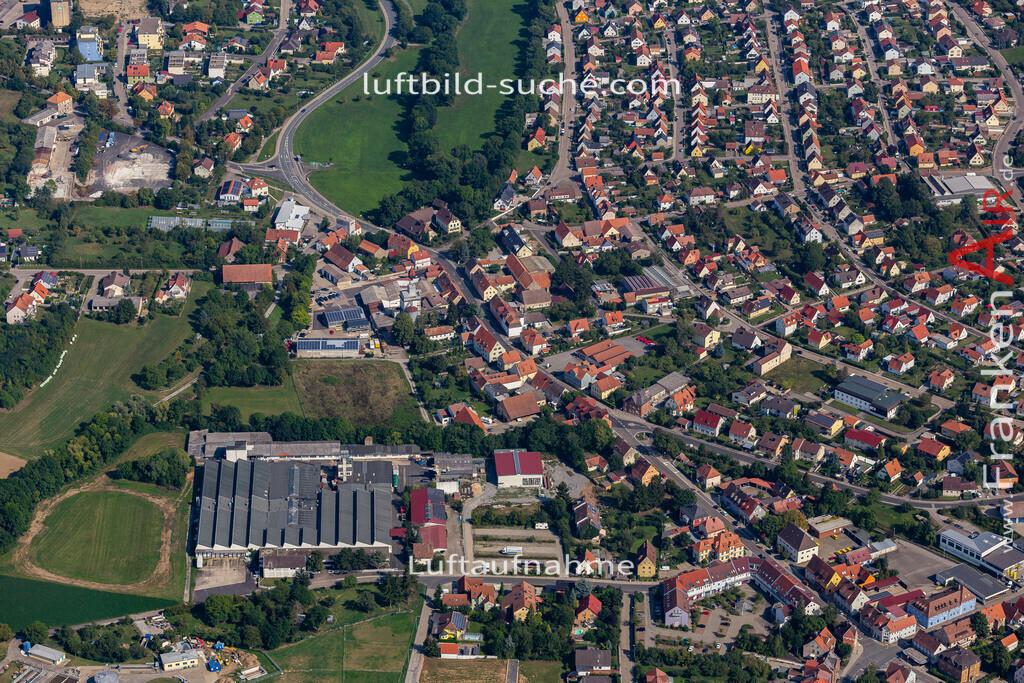 uffenheim-19-746 | aktuelles Luftbild von  Uffenheim - Luftaufnahme wurde 2019 von https://frankenair.de mittels Flugzeug (keine Drohne) erstellt.