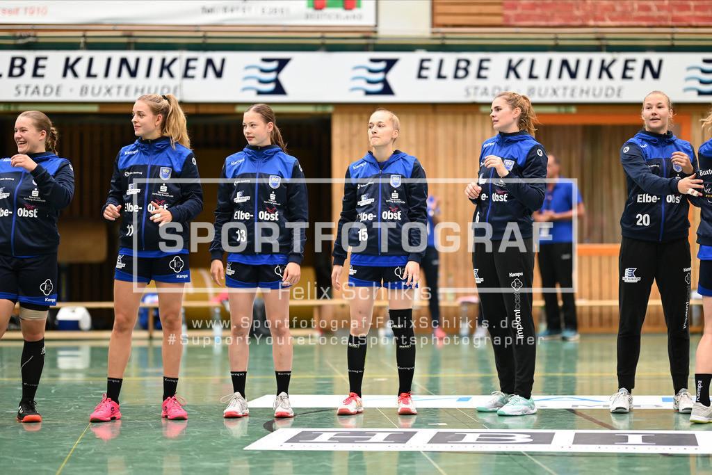 FZ6_8952 | ; 1. Bundesliga Frauen I 1. Spieltag I Buxtehuder SV - Neckarsulmer Sport-Union am 05.09.2020 in Buxtehude  (Sporthalle Kurt-Schuhmacher Strasse), Deutschland