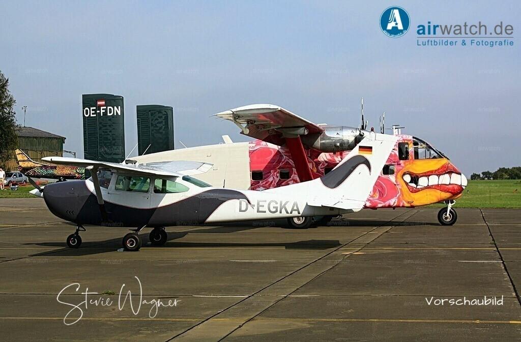 Flying Shoebox - Short S.C.7 Skyvan auf dem Flugplatz Husum-Schwesing | Flughafen Husum, Skyvan SC7, Short S.C.7 Skyvan • max. 4272 x 2848 pix