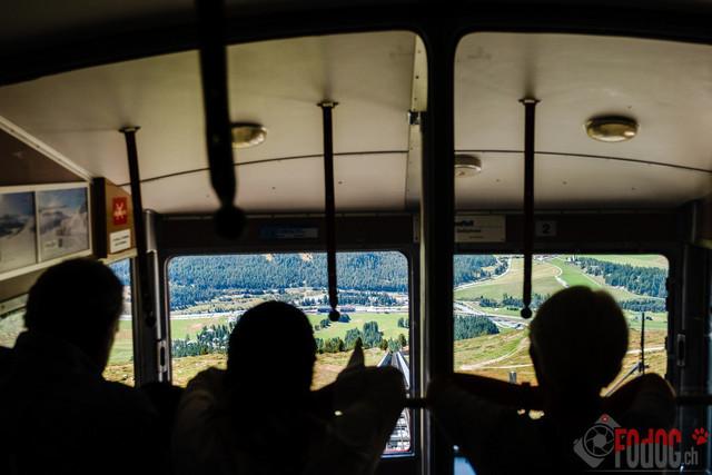 Internationale Zuchtschau in St Moritz | Internationale Zuchtschau Alpenlaendische Dachsbracken sowie Schweizer Niederlaufhunde, Westfaelische Dachsbracken und Petit Bleu de Gascogne in St. Moritz. Ausflug auf den Muottas Muragel auf 2454 Meter 15.09.2019 Foto: Leo Wyden