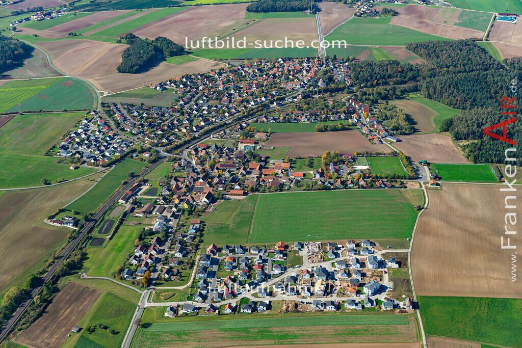 hagenbuechach-19-853 | aktuelles Luftbild von  Hagenbuechach - Luftaufnahme wurde 2019 von https://frankenair.de mittels Flugzeug (keine Drohne) erstellt.