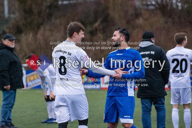 190127_RS-180760_NIK_5395 | Foto des SVCN Rückrunden Vorbereitungsturnier-Finales zwischen SV Curslack-Neuengamme I. und Lüneburger SK Hansa I. am 27.01.2019 auf dem Kunstrasenplatz in Curslack.