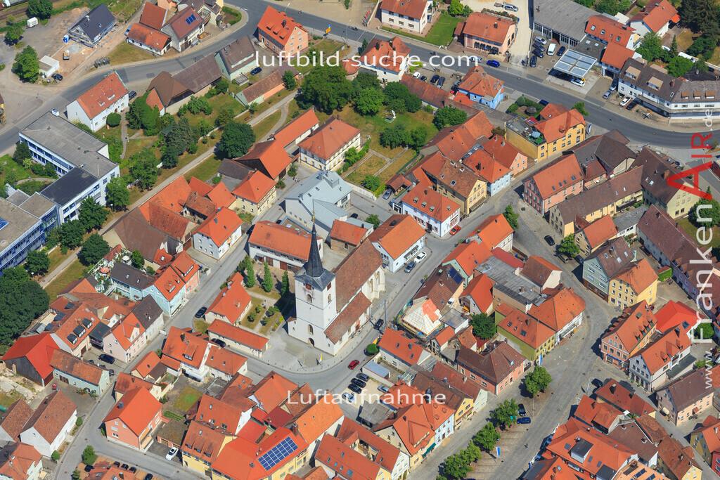 schluesselfeld-2015-1627 | Luftbild von  Schluesselfeld - Luftaufnahme wurde 2015 von https://frankenair.de mittels Flugzeug (keine Drohne) erstellt - die Geschenkidee