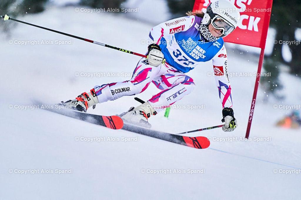 ALS5520_WWMG_GS-II_C | (C) FotoLois.com, Alois Spandl, WinterWorldMastersGames 2020 Innsbruck, Giant Slalom-II Gruppe C Damen, Patscherkofel Olympiaabfahrt, Mi 15. Jänner 2020.