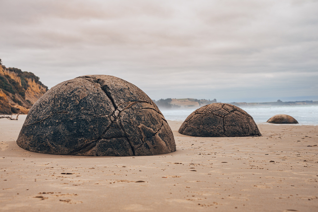 Moeraki Boulders | Moeraki Boulders in Neuseeland