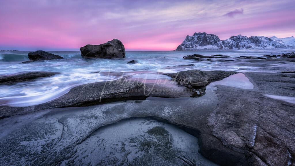 Morgenlicht am Eismeer
