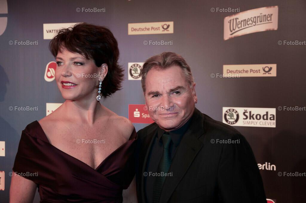 2010 Goldene Henne   Janina Hartwig und Fritz Wepper