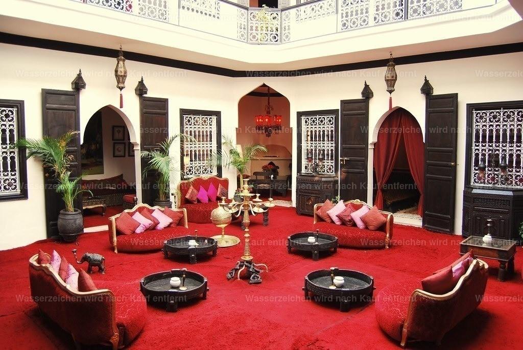 Marokkanisches Riad | Marokkanisches Riad