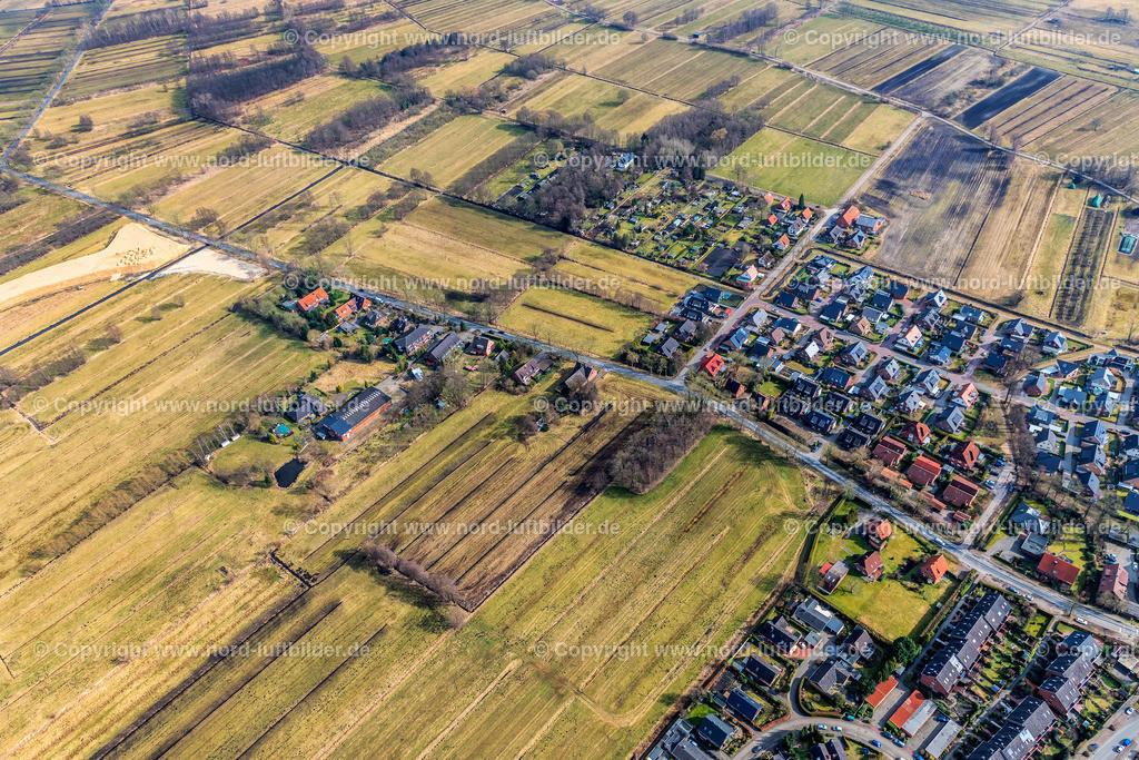 Buxtehude A20 Autobahnabfahrt Rübke_ELS_7452090318   Buxtehude - Aufnahmedatum: 09.03.2018, Aufnahmehöhe: 364 m, Koordinaten: N53°28.618' - E9°42.880', Bildgröße: 7648 x  5098 Pixel - Copyright 2018 by Martin Elsen, Kontakt: Tel.: +49 157 74581206, E-Mail: info@schoenes-foto.de  Schlagwörter:Niedersachsen,Luftbild, Luftbilder, Deutschland