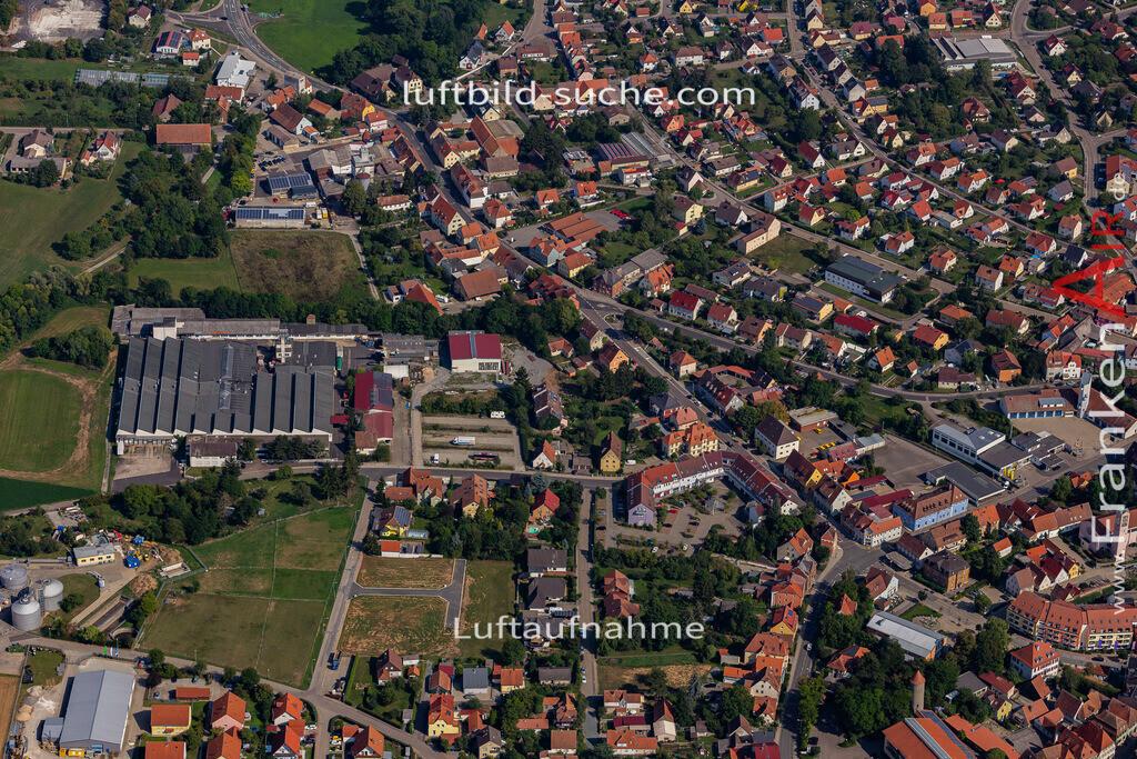 uffenheim-19-745 | aktuelles Luftbild von  Uffenheim - Luftaufnahme wurde 2019 von https://frankenair.de mittels Flugzeug (keine Drohne) erstellt.