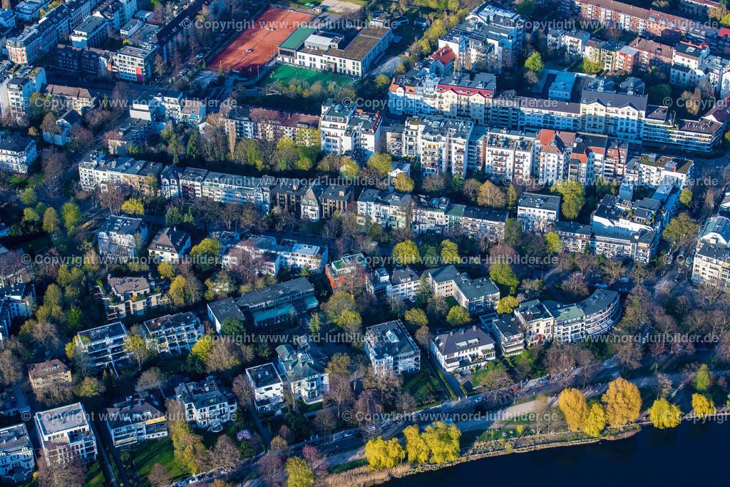 Hamburg_Uhlenhorst_Schöne_Aussicht_ELS_4840200421 | HAMBURG 20.04.2021 Wohngebiet