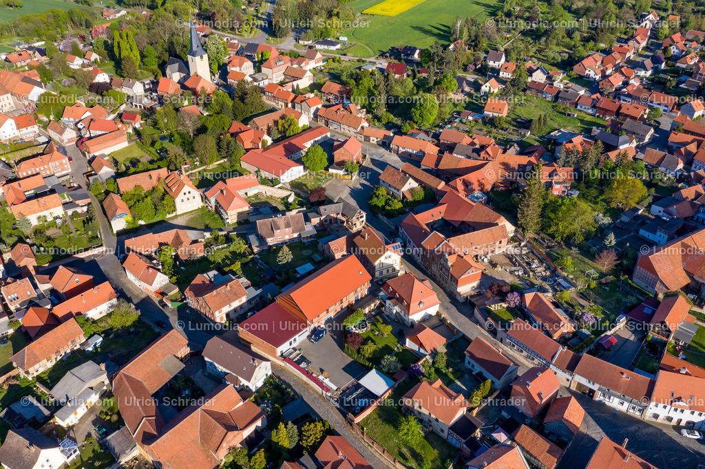 10049-51023 - Blick auf Badersleben _ Gemeinde Huy