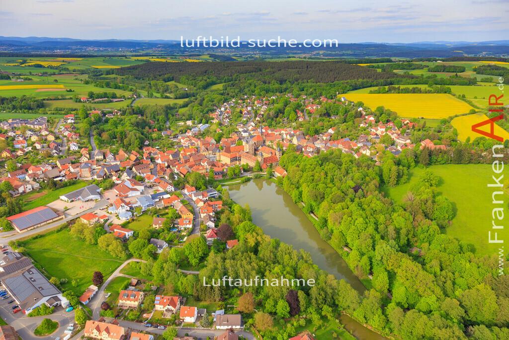 thurnau-2016-3362 | Luftbild von  Thurnau - Luftaufnahme wurde 2016 von https://frankenair.de mittels Flugzeug (keine Drohne) erstellt - die Geschenkidee