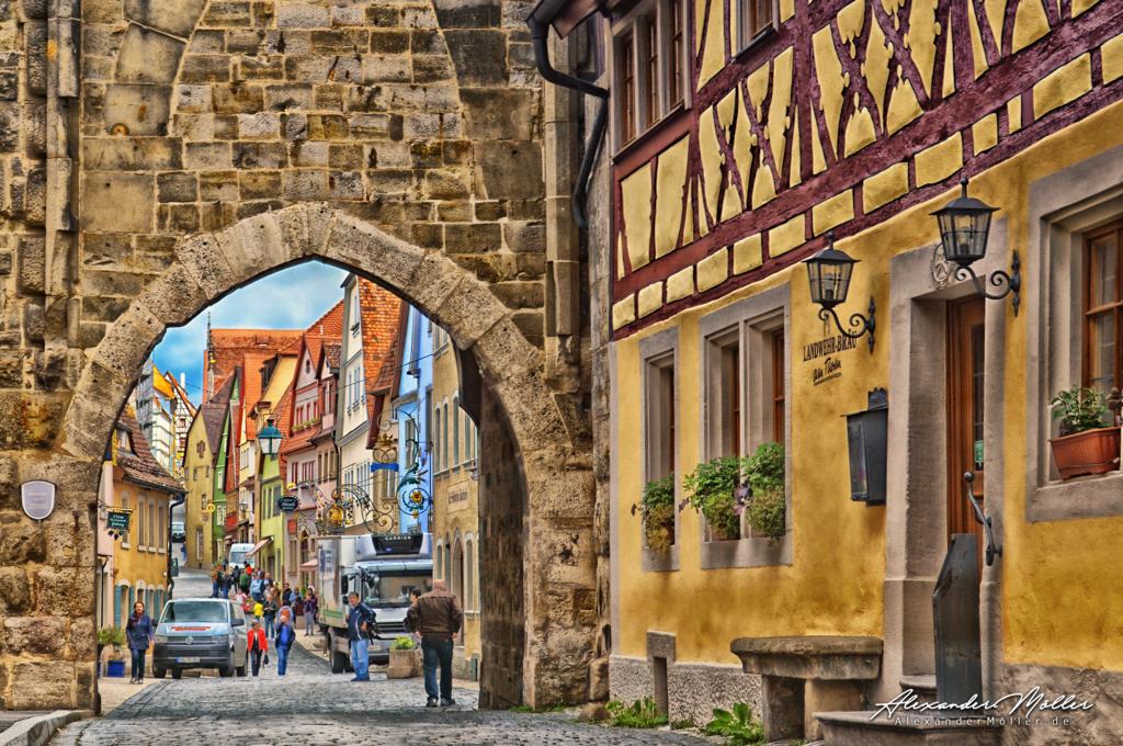 Rothenburg ob der Tauber No.78 | Rothenburg ob der Tauber - Hochwertige Bilder von Alexander Möller. Verschiedene Formate und Fotoprodukte im AlexanderMöller.de Bildershop