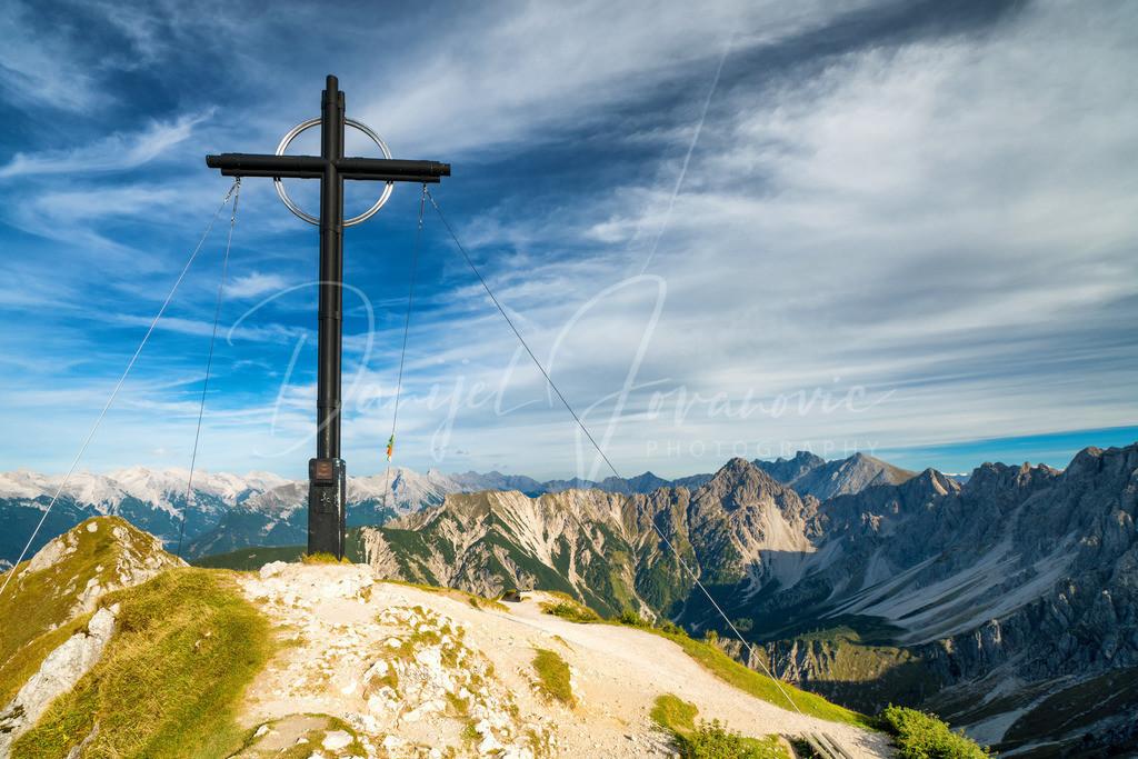 Seefelder Spitze | Die Seefelder Spitze mit Blick ins Wettersteingebirge