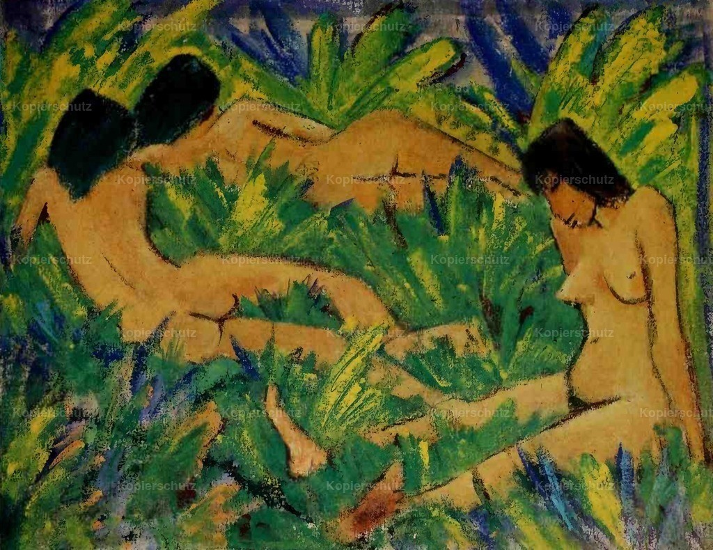 Mueller_ Otto (1874-1930) - Nude girls outdoors 1920