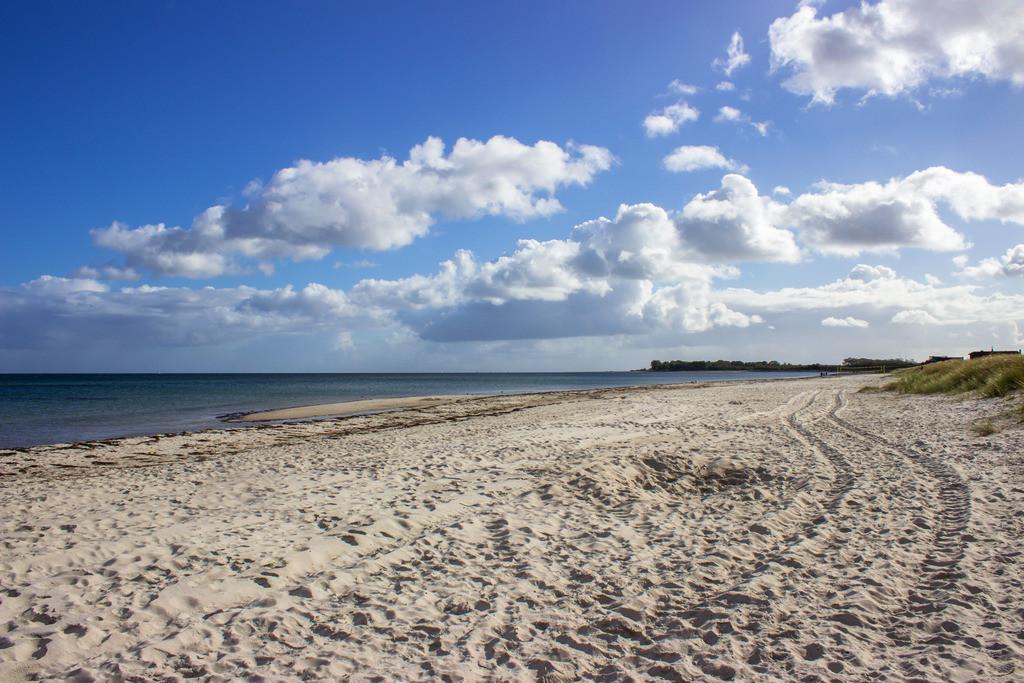 Strand in Kronsgaard | Strand in Kronsgaard im Herbst