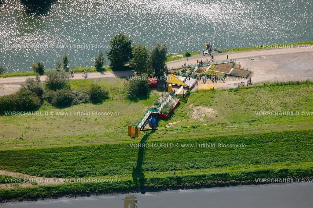 ES10093365 | Luftbild, EmscherKunst Between the Waters The Emscher Community Garden Marjetica Potrč Ooze Architects Essen,  Essen, Ruhrgebiet, Nordrhein-Westfalen, Germany, Europa, Foto: hans@blossey.eu, 05.09.2010